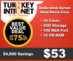 Dedicated Server Dual Hexa Core 32gb